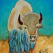 Spirit White Buffalo Poster by Mike Holder