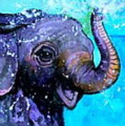 Splish Splash Poster by Debi Starr