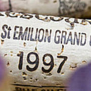 St Emilion Grand Cru Poster by Frank Tschakert