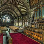 St Marys Church Organ Poster by Ian Mitchell