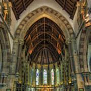 St Peter's Church Vertorama Poster by Ian Mitchell