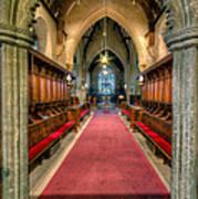 St Twrog Church Poster by Adrian Evans