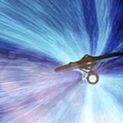 Star Trek - Warp Speed Mr. Scott Poster by Jason Politte