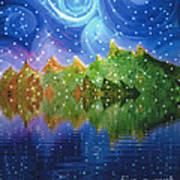 Starfall Poster by First Star Art