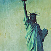 Statue Of Liberty Poster by Sophie Vigneault