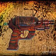 Steampunk - Gun - Ray Gun Poster by Paul Ward