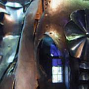 Steel Knight Poster by Ayse Deniz