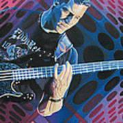 Stefan Lessard Pop-op Series Poster by Joshua Morton