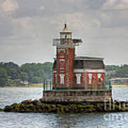 Stepping Stones Lighthouse I Poster by Clarence Holmes