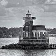 Stepping Stones Lighthouse II Poster by Clarence Holmes