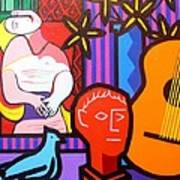 Still Life With Picasso's Dream Poster by John  Nolan