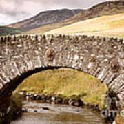 Stone Bridge Highlands  Poster by Jane Rix