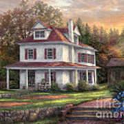 Stone Terrace Farm Poster by Chuck Pinson