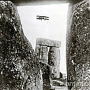 Stonehenge 1914 Poster by Science Source