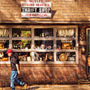 Store -  The Thrift Shop Poster by Mike Savad