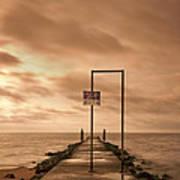 Storm Warning Poster by Evelina Kremsdorf