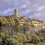 St.paul De Vence Poster by Guido Borelli