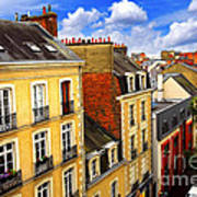 Street In Rennes Poster by Elena Elisseeva