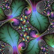 Stunning Mandelbrot Fractal Poster by Matthias Hauser