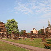 Sukhothai Historical Park - Sukhothai Thailand - 011344 Poster by DC Photographer