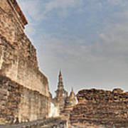 Sukhothai Historical Park - Sukhothai Thailand - 01138 Poster by DC Photographer