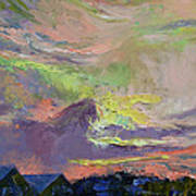 Summer Evening Poster by Michael Creese