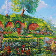 Summer In The Shire Poster by Joe  Gilronan