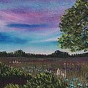 Summer Meadow Poster by Anastasiya Malakhova