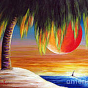 Summer Sunsets By Shawna Erback Poster by Shawna Erback