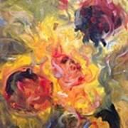 Sunflower Selebrations Poster by Karen Carmean