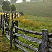 Sunrise Meadow - Blue Ridge Parkway I Poster by Dan Carmichael