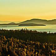 Sunrise Over Bellingham Bay Poster by Robert Bales