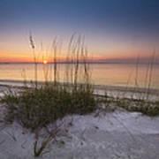 Sunset Dunes Poster by Debra and Dave Vanderlaan