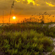 Sunset Dunes Poster by Marvin Spates