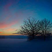 Sunset Over Sattuna Poster by Jonas Lind
