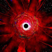Super Massive Black Hole Poster by David Lee Thompson