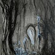 Swamp Shaman Poster by Christophe Ennis