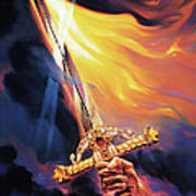 Sword Of The Spirit Poster by Jeff Haynie
