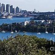 Sydney Harbour Poster by Steven Ralser