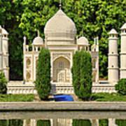 Taj Mahal Poster by Ricky Barnard