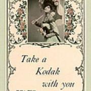 Take A Kodak With You Poster by Anne Kitzman