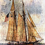 Tall Ships Art Poster by Dale Kincaid