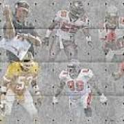 Tampa Bay Buccaneers Legends Poster by Joe Hamilton