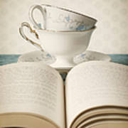 Tea For Two Poster by Amy Weiss