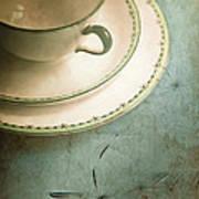 Tea Time Poster by Jan Bickerton