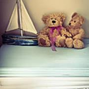Teddy Bears Poster by Jan Bickerton