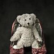 Teddy In Pumps Poster by Joana Kruse