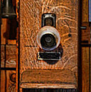 Telephone - Antique Wall Telephone Poster by Lee Dos Santos