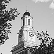 Tennessee Tech University Derryberry Hall Poster by University Icons