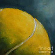 Tennis Ball Poster by Kristine Kainer